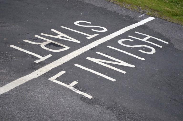 start_and_finish_line