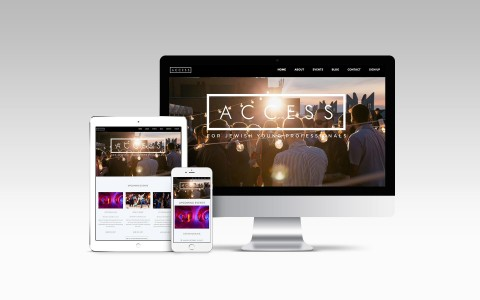 Access-Website-Mockup
